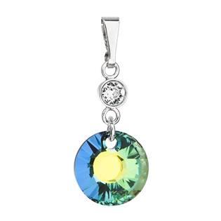 Stříbrný přívěšek s kameny Crystals from Swarovski® Sahara