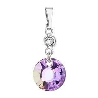 Stříbrný přívěšek s kameny Crystals from Swarovski® Vitrail Light