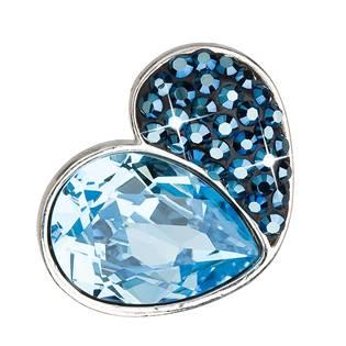 Stříbrný přívěsek s krystaly Crystals from Swarovski® Bermuda Blue