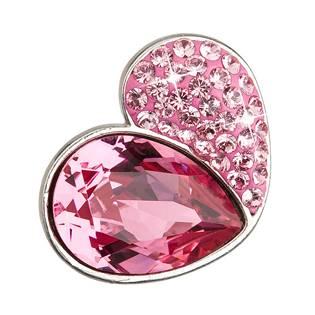 Stříbrný přívěsek s krystaly Crystals from Swarovski® Rose