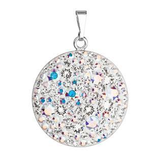 Stříbrný přívěšek s krystaly Crystals from Swarovski®AB