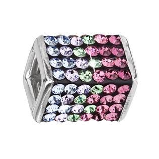 Stříbrný přívěšek s krystaly Swarovski® Rose