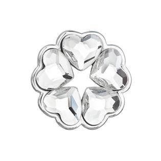 Stříbrný přívěšek se srdíčky Crystals from Swarovski®