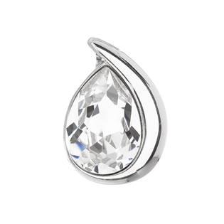 Stříbrný přívěšek slza s kamínkem Crystals from Swarovski®