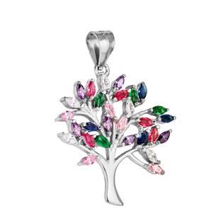 Stříbrný přívěšek strom života