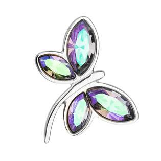 Stříbrný přívěšek vážka s krystaly Crystals from Swarovski®