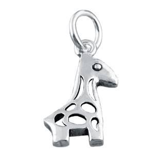 Stříbrný přívěšek žirafka