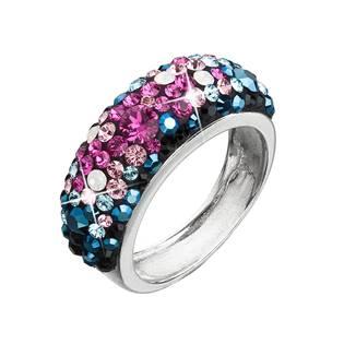 Stříbrný prsten s krystaly Crystals from Swarovski®, Galaxy