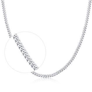 """Stříbrný řetízek """"pancer"""", tl. 1,1 mm, délka 40 cm"""