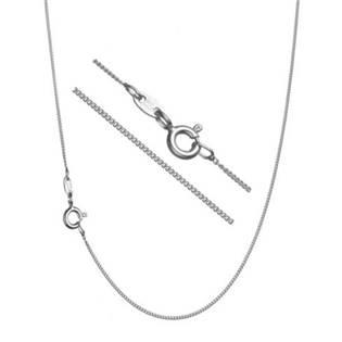 """Stříbrný řetízek """"pancer"""", tl. 1,5 mm, délka 50 cm"""