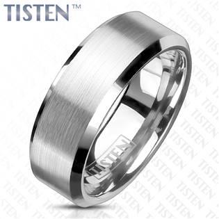 TIS0011 Pánský snubní prsten TISTEN šíře 6 mm