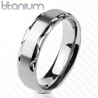 TT1045 Dámský snubní prsten titan