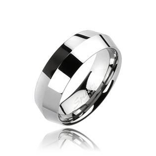 Wolframový prsten, šíře 8 mm, vel. 67